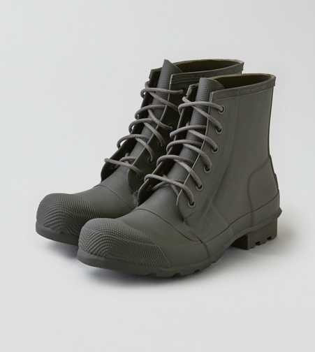 Hunter Original Rubber Lace-Up Boots  - Free Shipping