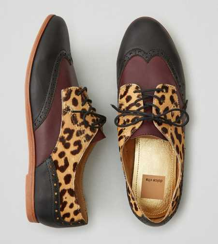 Dolce Vita Adderly Leopard Oxfords