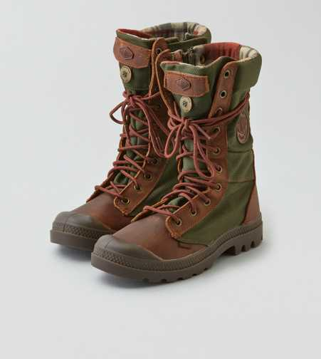 Palladium Tactical Leather Boot