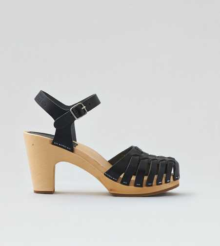 Swedish Hasbeens Snake Sandal  - Free Shipping