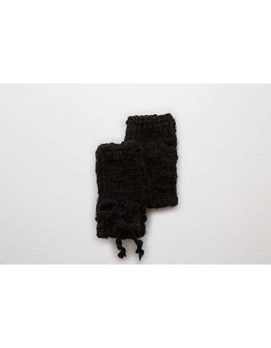 Aerie Hand Knit Fingerless Gloves  -