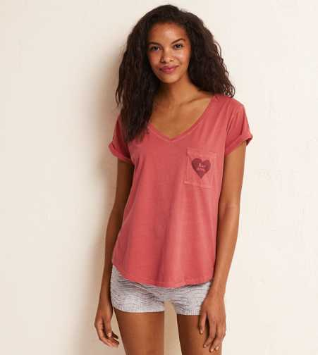 Aerie Real Soft® Graphic Tee   - Buy One Get One 50% Off