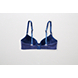 Blue Heather Bridget Pushup Cotton Bra