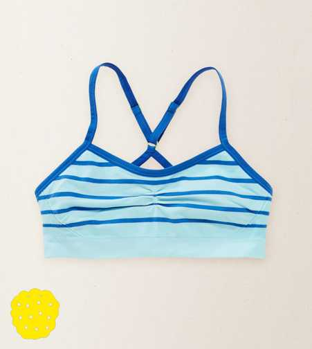 Aerie For Yellowberry Girls' Striped Bralette